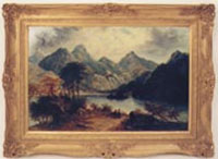 William H. Welsh Lanscape Painting