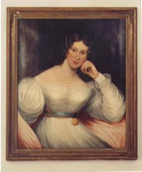 English Portrait Of A Lady