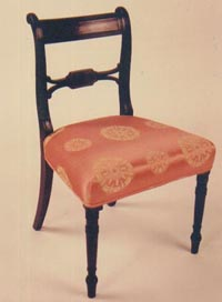 Early 19th Century Mahogany Regency Side Chair