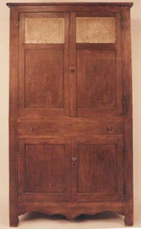 Four Door Poplar Cupboard