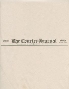 Courier Journal – September 2004