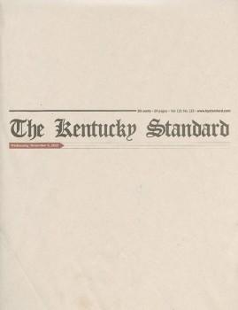 Kentucky Standard – November 2013