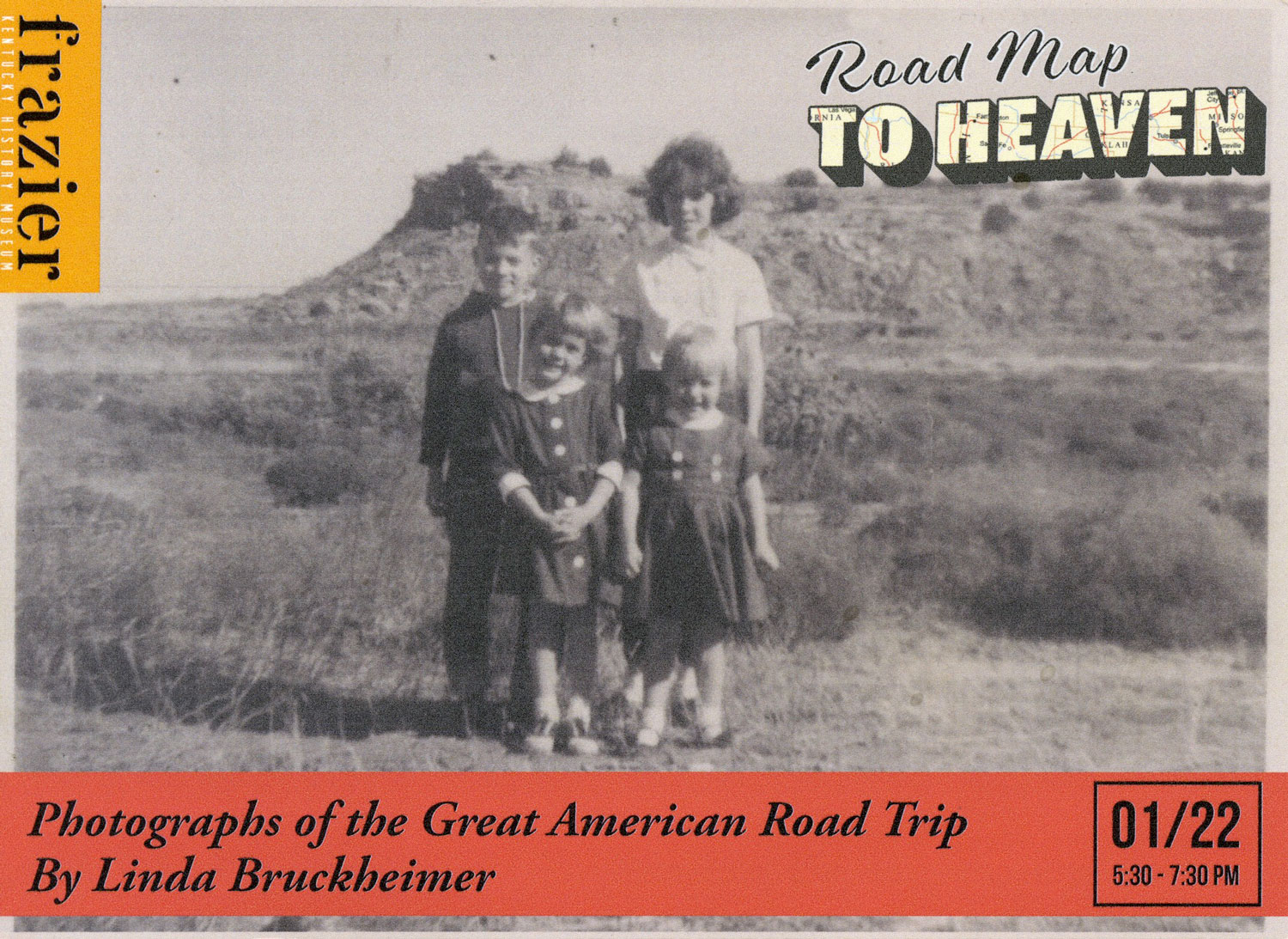 Road Map To Heaven: Photographs By Linda Bruckheimer At Frazier History Museum In Louisville, Kentucky